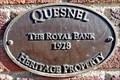 Image for Former Royal Bank - 1928 - Quesnel, BC