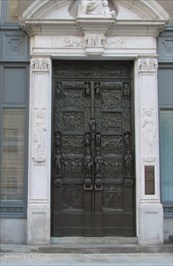 View waymark gallery. Salada Tea Doors - Boston MA & Salada Tea Doors - Boston MA - Doorways of the World on ...