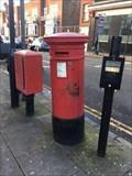 Image for Victorian Pillar Box - Victoria Road - Kilburn - London - UK