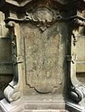 Image for 1758 - Statue pedestal - Prague, Czech Republic