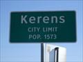 Image for Kerens, TX - Population 1573