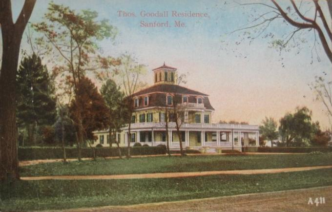 Thomas Goodall House Sanford Maine Photos Then And