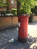 Image for Victorian Pillar Box - Canfield Gardens - South Hampstead - London - UK