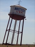Image for Britten Water Tower - Route 66 - Groom, Texas, USA.