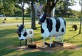 Image for Folk Art Cows and Donkey - Plainfield, Iowa