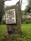 Image for Shooters Hill milestone and memorial, Greenwich, London