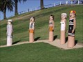 Image for Bathing Tableau Bollards - Geelong Waterfront, Victoria, AU
