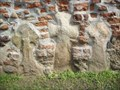 Image for Three crosses in the Zerbst city wall / Saxony-Anhalt  ...   Drei Kreuze in der Zerbster Stadtmauer