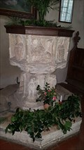 Image for Baptism Font - St George - St Cross South Elmham, Suffolk