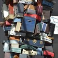 Image for Giant Luggage Pile, Sacramento Airport, CA