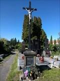 Image for Central Cross Unhošt Cemetery, Czechia
