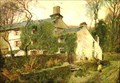 Image for Autumn, Low Wood Farm, Troutbeck by Alfred Heaton Cooper – Low Wood Farm, Troutbeck, Cumbria UK