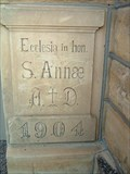 Image for 1904 - St. Ann Catholic Church - Walker, Kansas