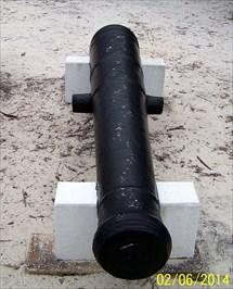 French 16-Pounder Gun - Pensacola, FL - Static Artillery
