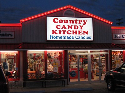 Country Candy Kitchen Pigeon Forge Tn S On Waymarking Com