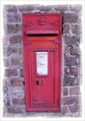 Image for Victorian Post Box - Church Hougham, Kent