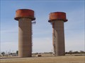 Image for Giant Water Towers - Old Air Force Base - Amarillo, Texas, USA.