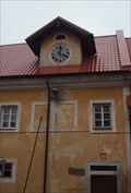 Image for The Imperial Court Clock -  Jenec, CZ
