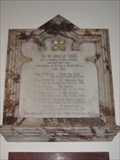 Image for Boer War Memorial Plaque St Peters Church -  Berkhamstead Herts