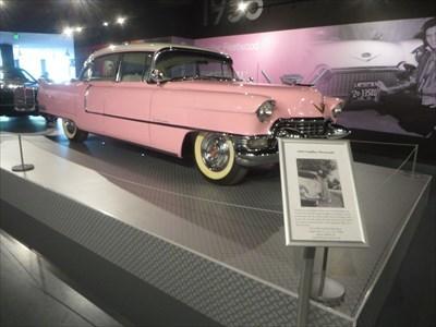 veritas vita visited Elvis Presley Automobile Museum