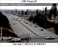 Image for I-90 at Freya St Webcam - Spokane, WA