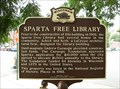 Image for Sparta Free Library Historical Marker