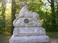 Image for First Wisconsin Cavalry Monument ~ Chickamauga Georgia