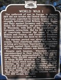 Image for World War I - Menomonie, WI