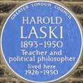 Image for Harold Laski - Addison Bridge Place, London, UK