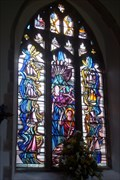 Image for Seafarer's Window, St.Mary the Virgin's Church, Tollesbury, Essex.