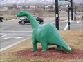 Image for Greenie the Dinosaur at Holiday Oil in Midvale
