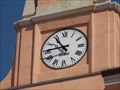 Image for Clocks on the town hall - Muggia, Italy