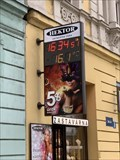 Image for Time and Temperature Sign - Ostrava, Czech Republic