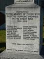 Image for Morris War Memorial - Morris MB