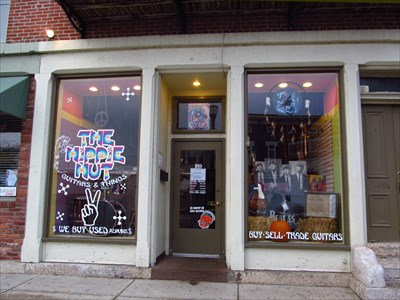 The Hippie Hut Guitars Amp Things Circleville Ohio