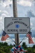 Image for Staff Sgt Charles Ampagoomian Sr. Memorial Bridge - Whitinsville MA