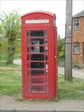 Image for Red Telephone Box - Main Street, Cold Ashby, Northamptonshire, UK
