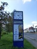 Image for Time & Temperature Sign in 07387 Krölpa/ Thüringen/ Deutschland