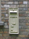 Image for White Victorian Post Box - Arne, Isle of Purbeck, Dorset, UK