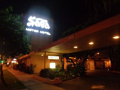 "Saga Motor Motel - ""No Semolina"" - Pasadena"