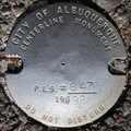 Image for City of Albuquerque Centerline Monument 1992