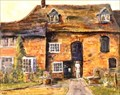 """Image for """"The Mill at Mill Green, Hatfield"""" by Marie Goldsmith – Mill Green Museum, Bush Hall Lane, Mill Green, Herts, UK"""