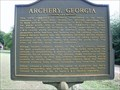 Image for Archery, Georgia-Webster Co