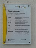 Image for 'Stadtapotheke', The History - 1500 to 1999 - Gera/THR/Germany