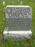 Image for William S. Lancaster - Blackland Cemetery - Blackland, TX
