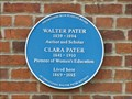 Image for Walter and Clara Pater - Oxford, Oxfordshire, UK
