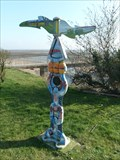 Image for Painted Milepost - 407 -  Blackpill, Mumbles, Swansea, Wales