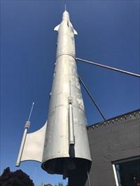 Fremont Rocket, Looking Up, Seattle, Washington