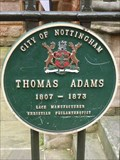Image for Thomas Adams - Nottingham, Nottinghamshire, England, UK
