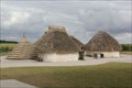 """Image for """"Neolithic homes reconstructed for Stonehenge visitor centre"""" -- Near Amesbury, Wiltshire, UK"""